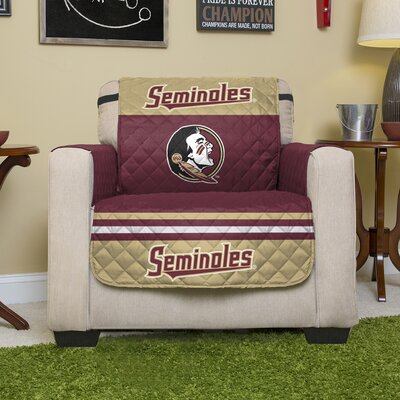 NCAA Polyester Recliner Slipcover NCAA Team: Florida State University
