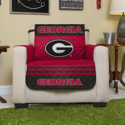 NCAA Polyester Recliner Slipcover NCAA Team: University of Georgia