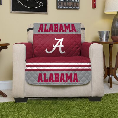 Stanford Protector Polyester Recliner Slipcover with Elastic Straps NCAA Team: University of Alabama