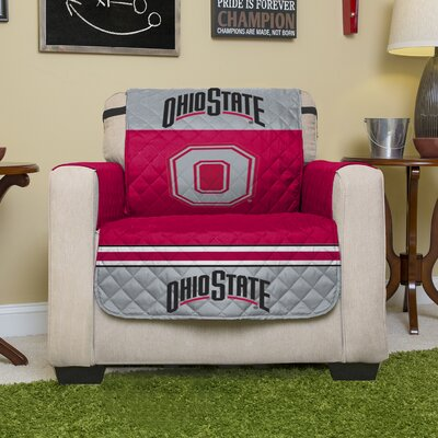 NCAA Polyester Recliner Slipcover NCAA Team: The Ohio State University