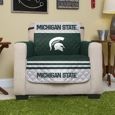 NCAA Polyester Recliner Slipcover NCAA Team: Michigan State University