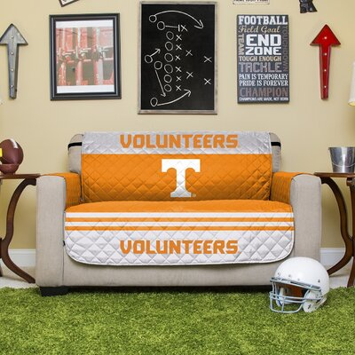 Stanford Protector Polyester Sofa Slipcover with Elastic Straps NCAA Team: University of Tennessee, Knoxville