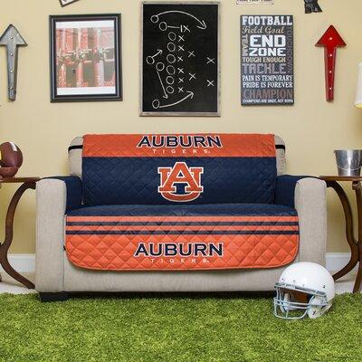NCAA Polyester Sofa Slipcover NCAA Team: Auburn University
