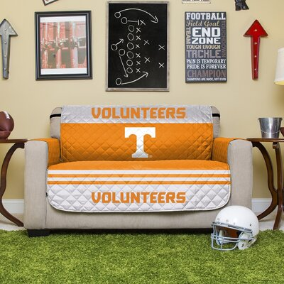 NCAA Polyester Loveseat Slipcover NCAA Team: University of Tennessee, Knoxville