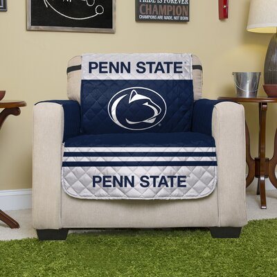 NCAA Polyester Armchair Slipcover NCAA Team: Pennsylvania State University
