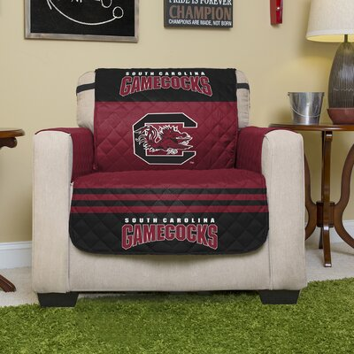 NCAA Polyester Armchair Slipcover NCAA Team: University of South Carolina, Columbia