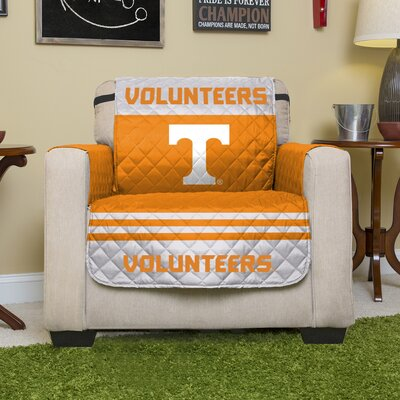 NCAA Polyester Armchair Slipcover NCAA Team: University of Tennessee, Knoxville