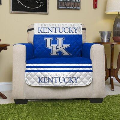 NCAA Polyester Armchair Slipcover NCAA Team: University of Kentucky