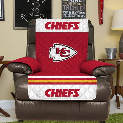 NFL Recliner Slipcover NFL Team: Kansas City Chiefs