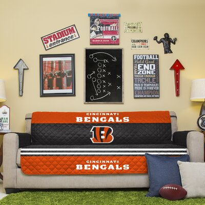 NFL Sofa Slipcover NFL Team: San Diego Chargers