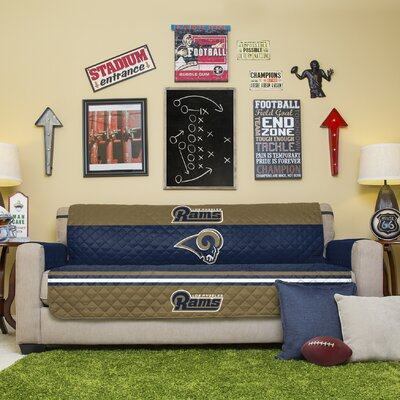 NFL Sofa Slipcover NFL Team: Washington Redskins