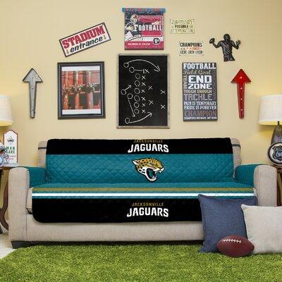NFL Sofa Slipcover NFL Team: Jacksonville Jaguars
