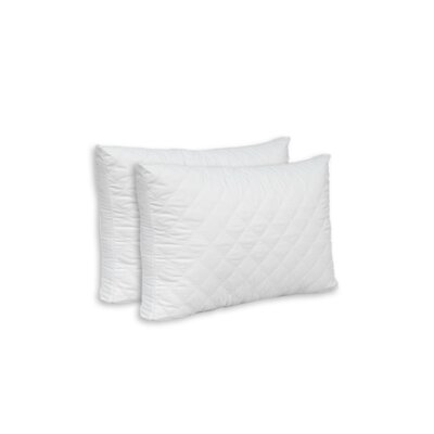 Double Quilted Pillow Size: King