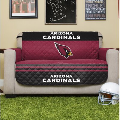 NFL Loveseat Slipcover NFL Team: Arizona Cardinals