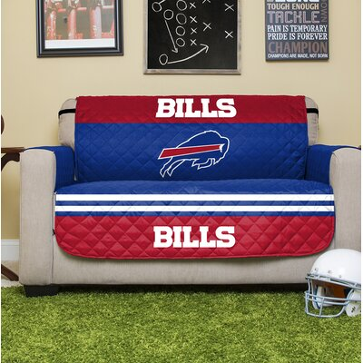 NFL Loveseat Slipcover NFL Team: Buffalo Bills