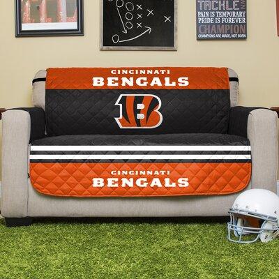 NFL Loveseat Slipcover NFL Team: Cincinnati Bengals