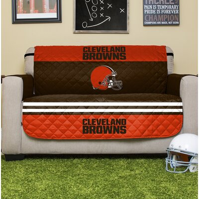 NFL Loveseat Slipcover NFL Team: Cleveland Browns