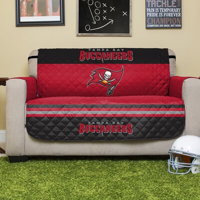 NFL Loveseat Slipcover NFL Team: Tampa Bay Buccaneers
