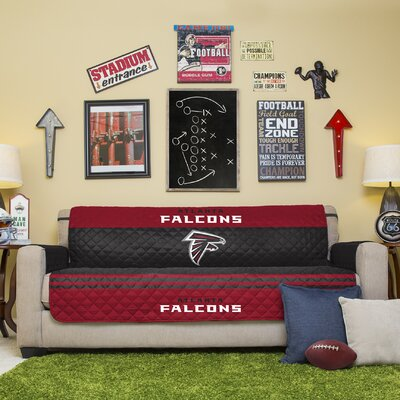 NFL Sofa Slipcover NFL Team: Atlanta Falcons