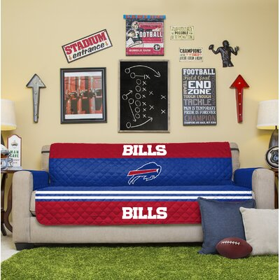 NFL Sofa Slipcover NFL Team: Buffalo Bills