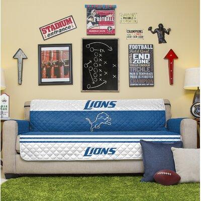 NFL Sofa Slipcover NFL Team: Detroit Lions