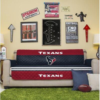 NFL Sofa Slipcover NFL Team: Houston Texans