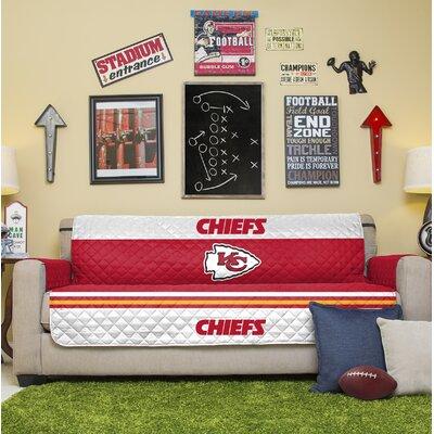 NFL Sofa Slipcover NFL Team: Kansas City Chiefs