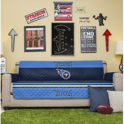 NFL Sofa Slipcover NFL Team: Tennessee Titans