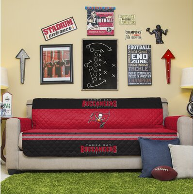 NFL Sofa Slipcover NFL Team: Tampa Bay Buccaneers