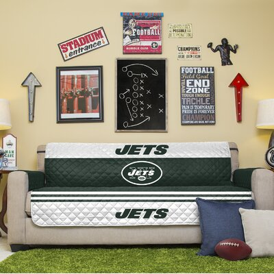 NFL Sofa Slipcover NFL Team: New York Jets