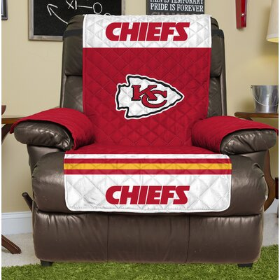 NFL Recliner Slipcover NFL Team: Kansas City Chiefs