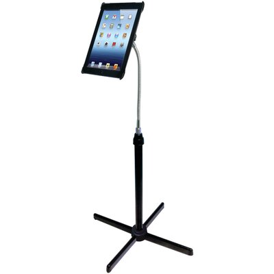 Height-Adjustable Gooseneck Floor Stand for iPad with Retina Display/iPad 3rd Gen/iPad 2