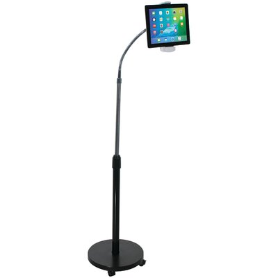 Gooseneck Floor Stand for iPad and Tablet Mounting System