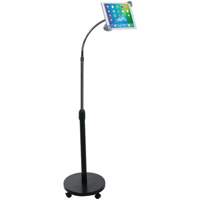 Security Gooseneck Floor Stand  iPad and Tablet Mounting System