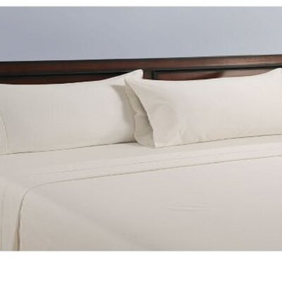 325 Thread Count Cotton Sheet Set Color: True White, Size: Queen