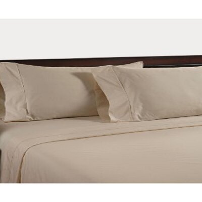 400 Thread Count Egyptian Quality Cotton Sheet Set Color: Beige