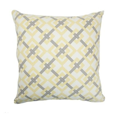 Ginevra Geometric Cotton Throw Pillow
