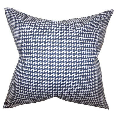 Lviv Cotton Throw Pillow Color: Blue, Size: 20 x 20
