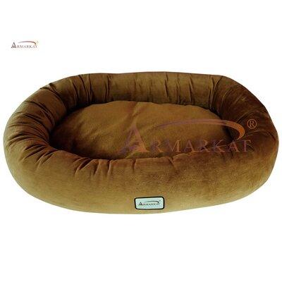 Donut Dog Bed Size: Medium (36 L x 25 W), Color: Brown