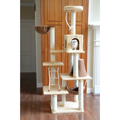 78 Premium Ultra Soft Cat Tree