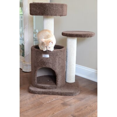 30 Premium Carpeted Cat Tree