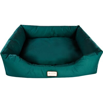 Bolster Dog Bed Size: X-Large (50 L x 36.5 W), Color: Laurel Green