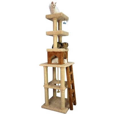 84 Ultra-Thick Cat Tree in Beige