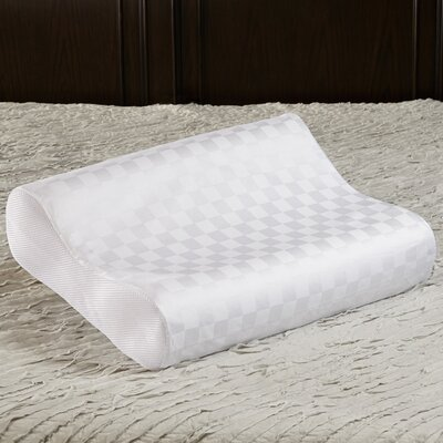 Gel Memory Foam Pillow Size: Jumbo