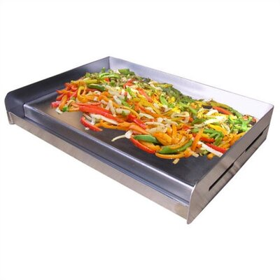 Sizzle-Q Universal Stainless Steel BBQ Griddle