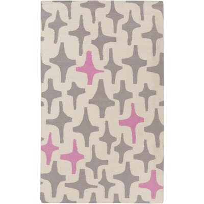 Textila Light Gray Area Rug Rug Size: Rectangle 5 x 8