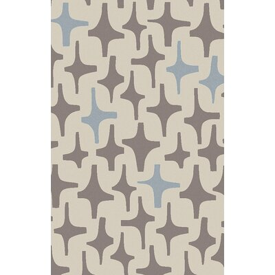 Textila Light Gray Area Rug Rug Size: Rectangle 33 x 53