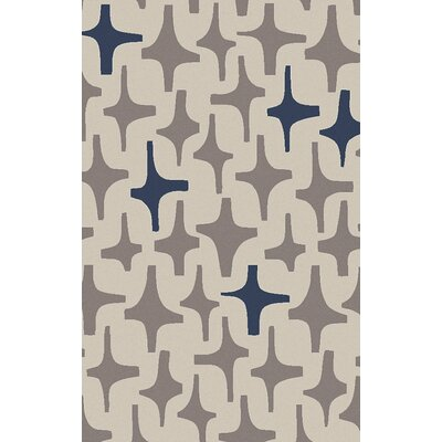 Textila Light Gray Area Rug Rug Size: Rectangle 8 x 11