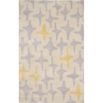 Swansea Ivory/Slate Area Rug Rug Size: Rectangle 5 x 8