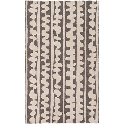 Decorativa Hand-Tufted Brown/Neutral Area Rug Rug Size: Rectangle 33 x 53